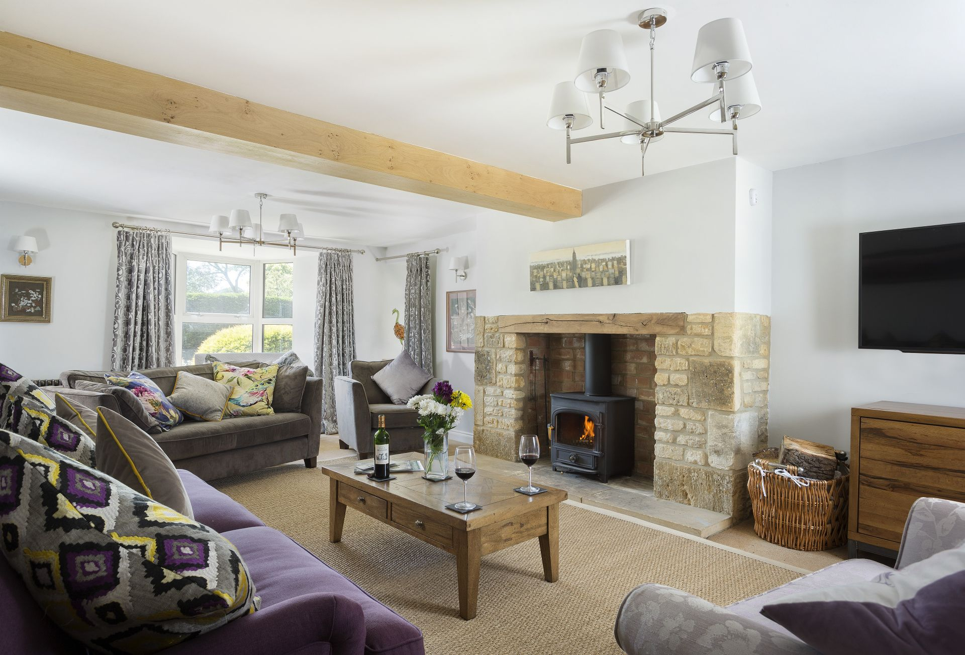 Millstone Cottage is located in Bourton-on-the-Water