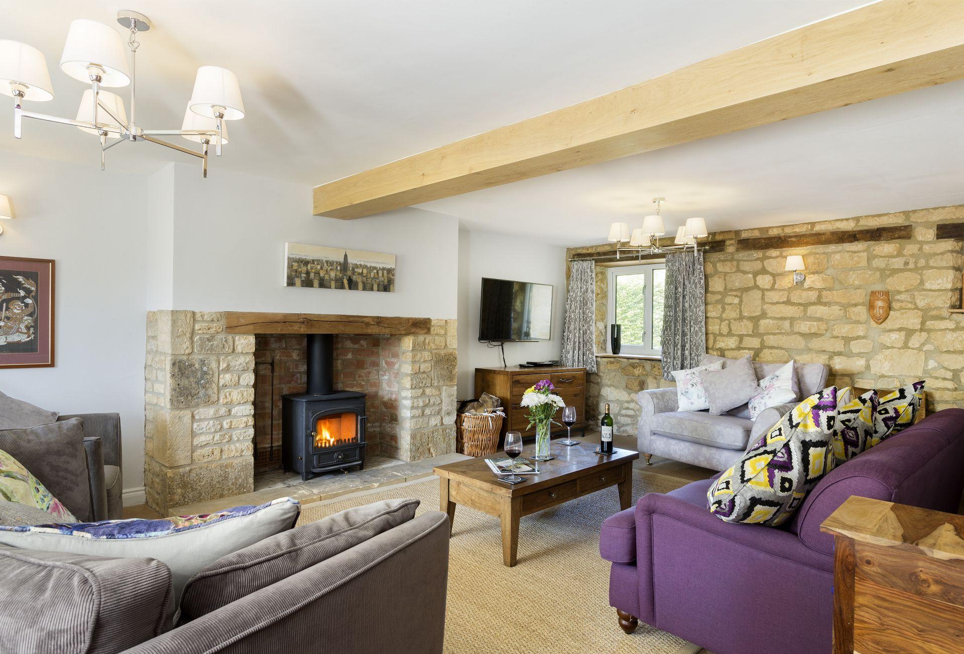 Millstone Cottage sleeps 11
