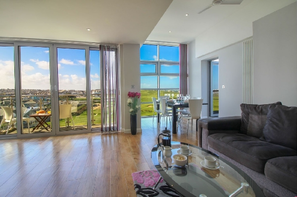 Zinc Penthouse 50 is in Newquay, Cornwall