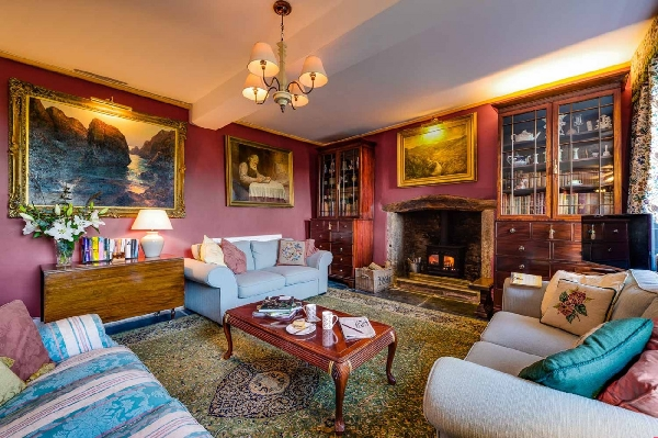The West Wing at Trevadlock Manor is located in Bodmin Moor