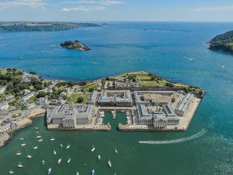 10 Clarence - Royal William Yard is located in Plymouth