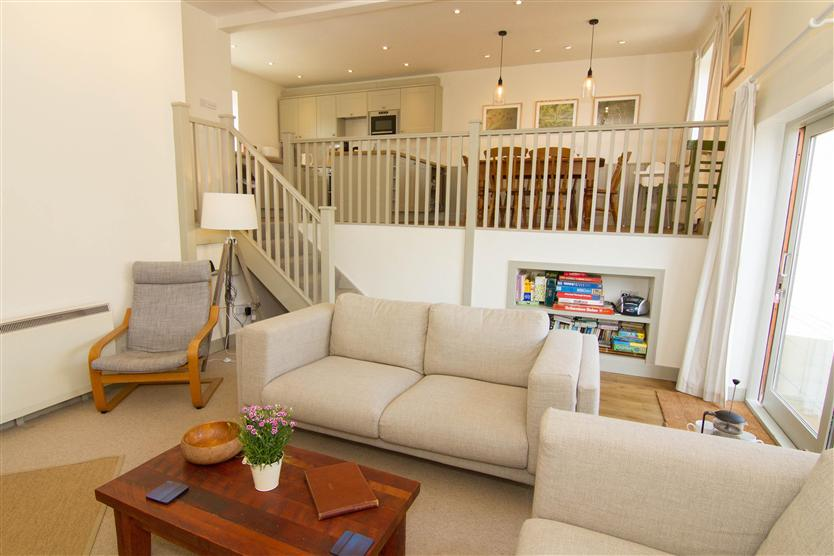 Mow Creek Cottage is located in Brancaster Staithe