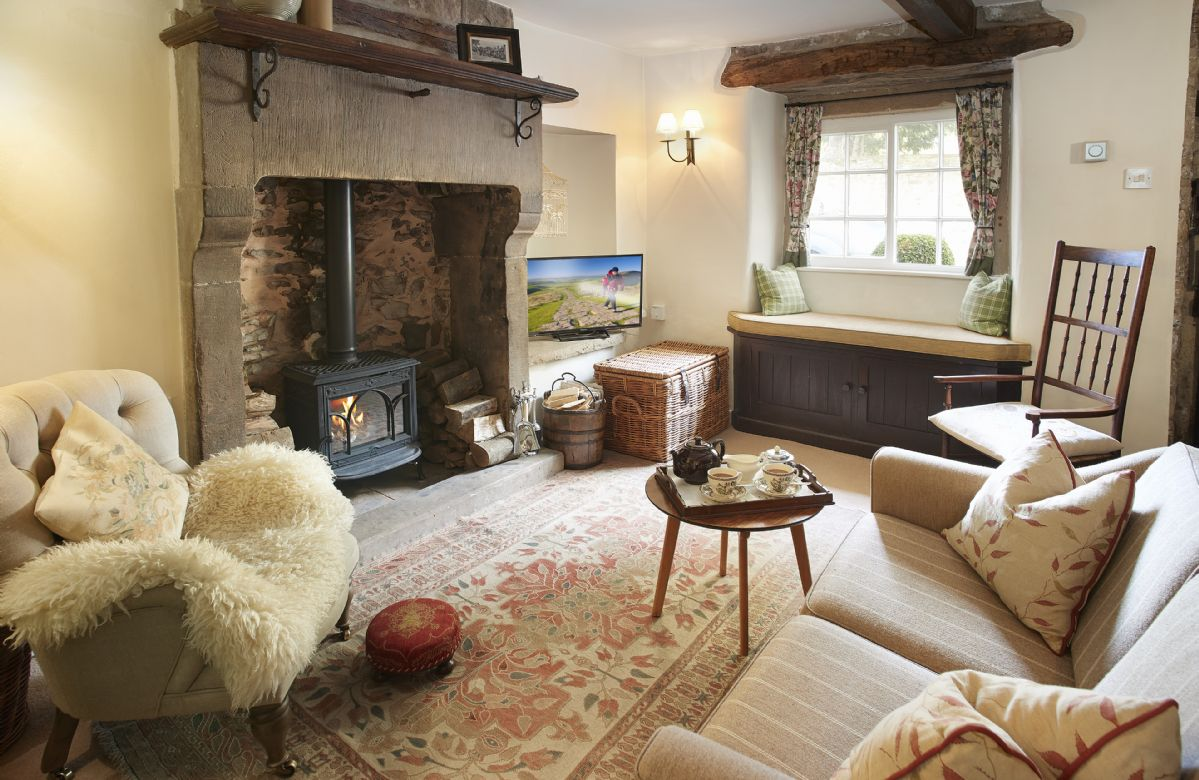 Memorial Cottage is located in Eyam