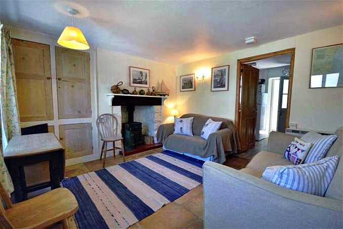 Harbour Cottage is in Hope Cove, Devon