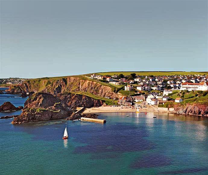 Seabrook is located in Hope Cove
