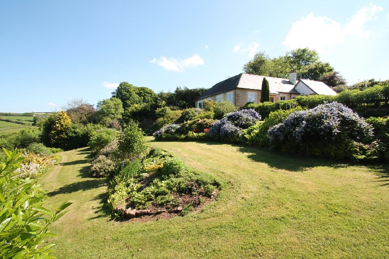 Raleigh Lodge a holiday cottage rental for 6 in Wheddon Cross,