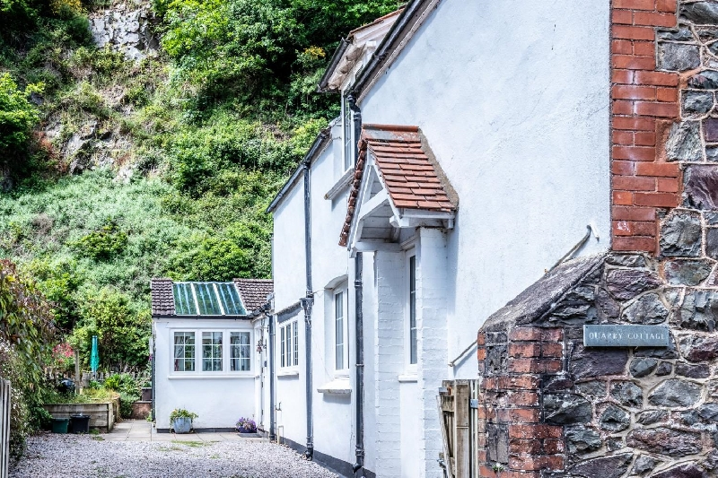 Quarry Cottage a holiday cottage rental for 6 in Porlock,