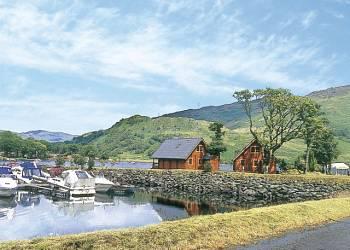 Ardlui Lodges, Loch Lomond,Argyll and Bute,Scotland