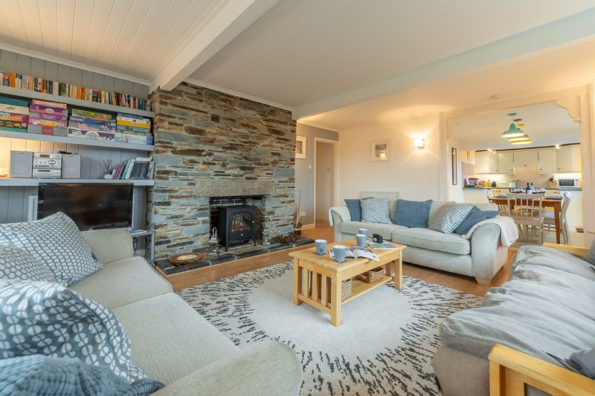 Palm Trees a holiday cottage rental for 8 in Polzeath,