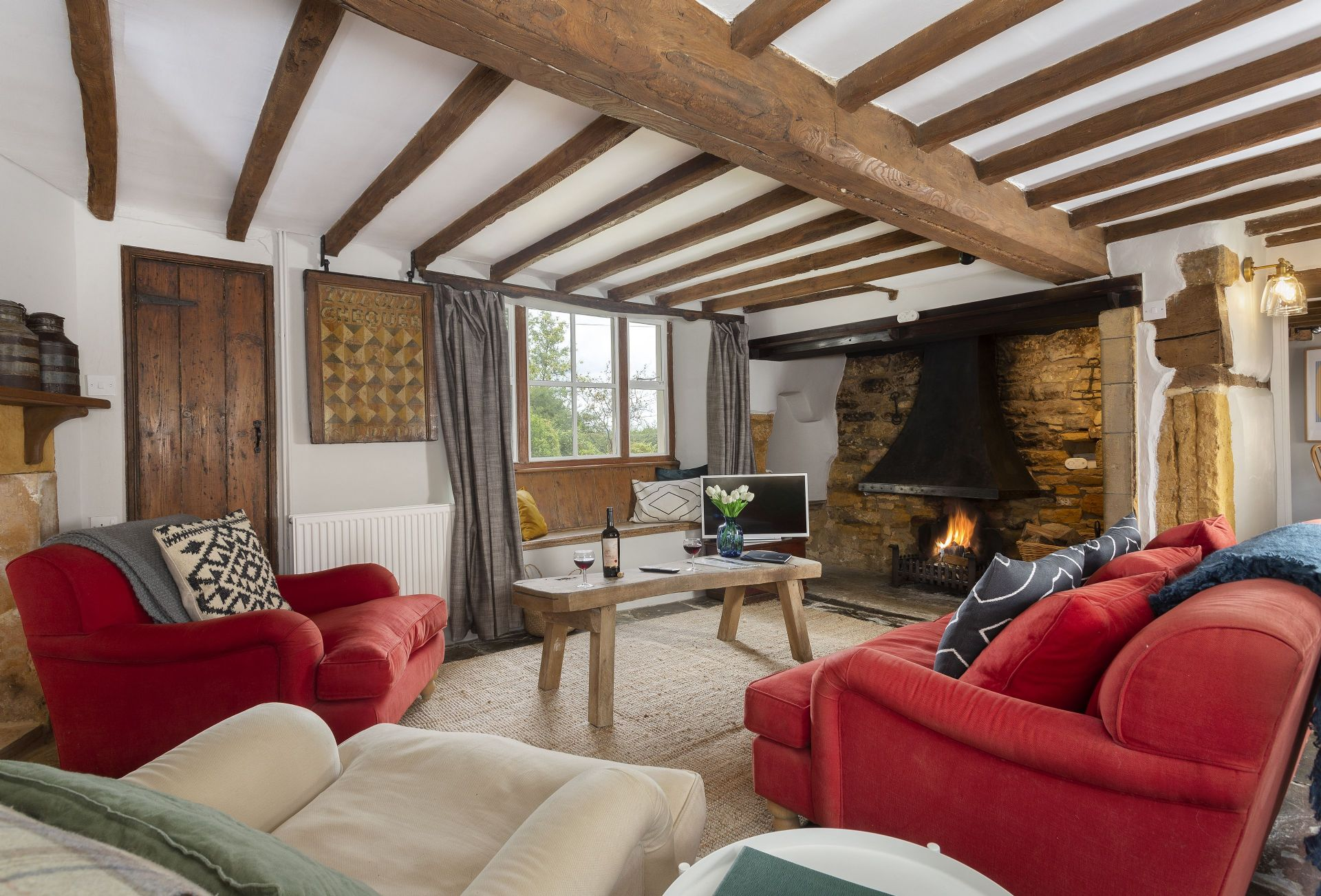 The Old Chequer a holiday cottage rental for 4 in Draycott,