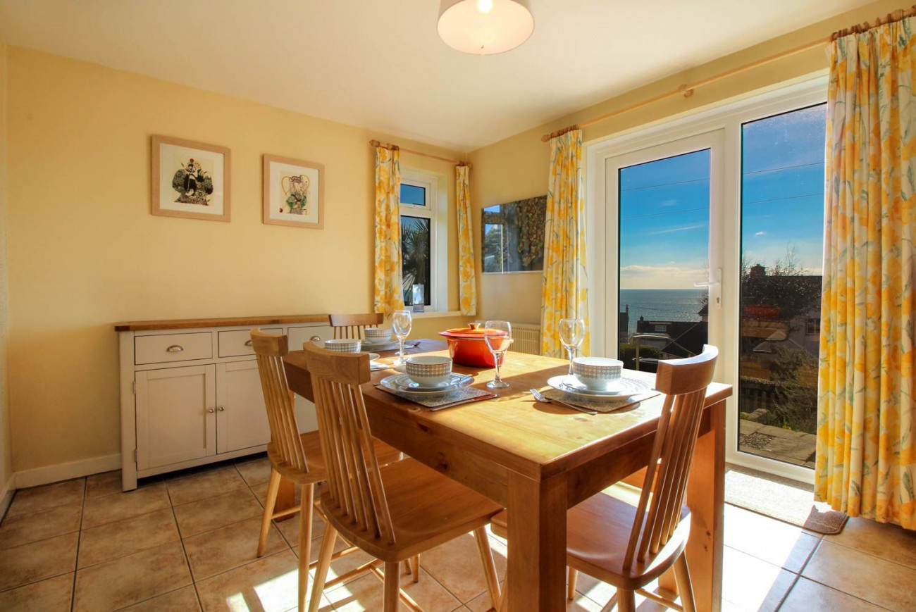 Nare View a holiday cottage rental for 6 in Portscatho,