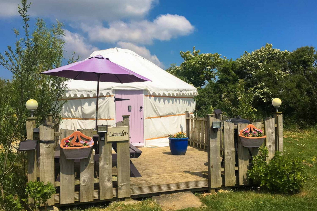 Details about a cottage Holiday at Lavender Yurt