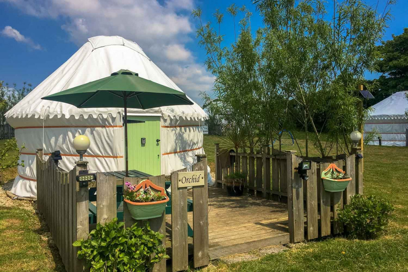 Image of Orchid Yurt
