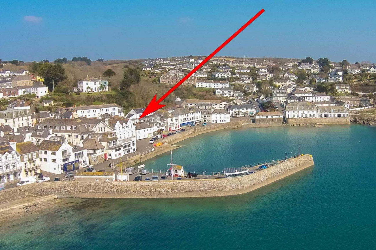 Potted Shrimp a holiday cottage rental for 2 in St Mawes,