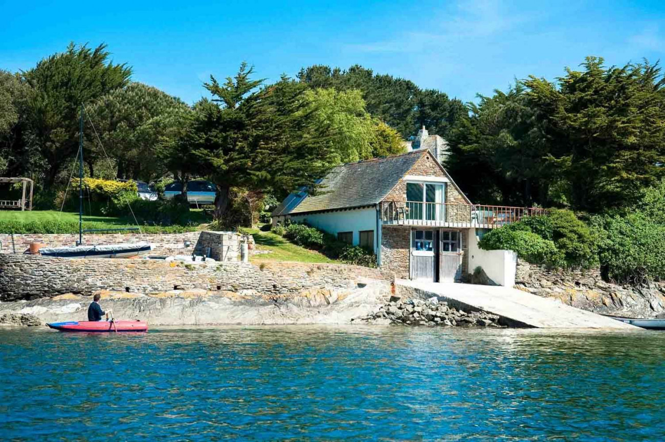 The Boathouse a holiday cottage rental for 2 in St Mawes,