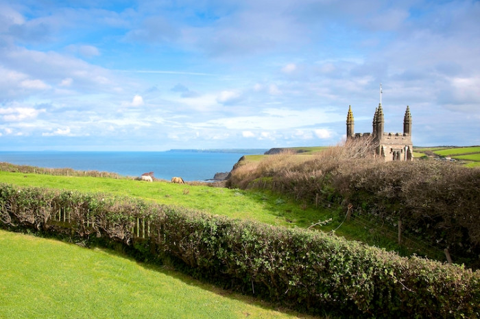 Church Cottage a holiday cottage rental for 4 in Crackington Haven,