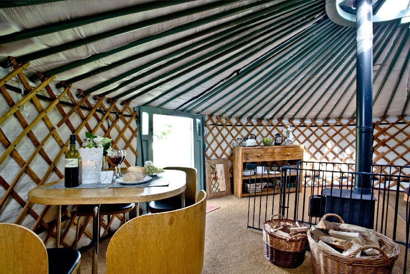 Image of Yurt 6 - East Thorne Farm