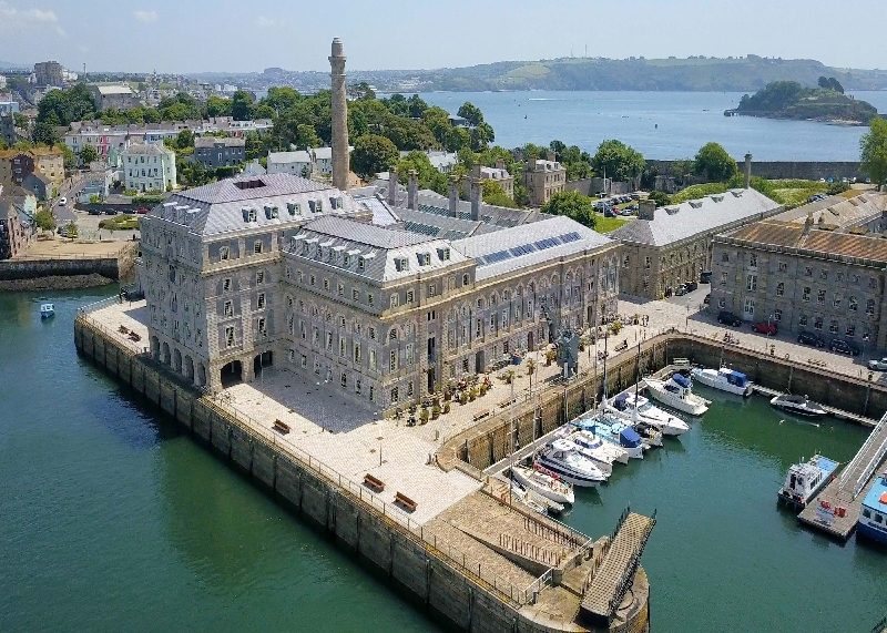 15 Mills Bakery - Royal William Yard a holiday cottage rental for 2 in Plymouth,