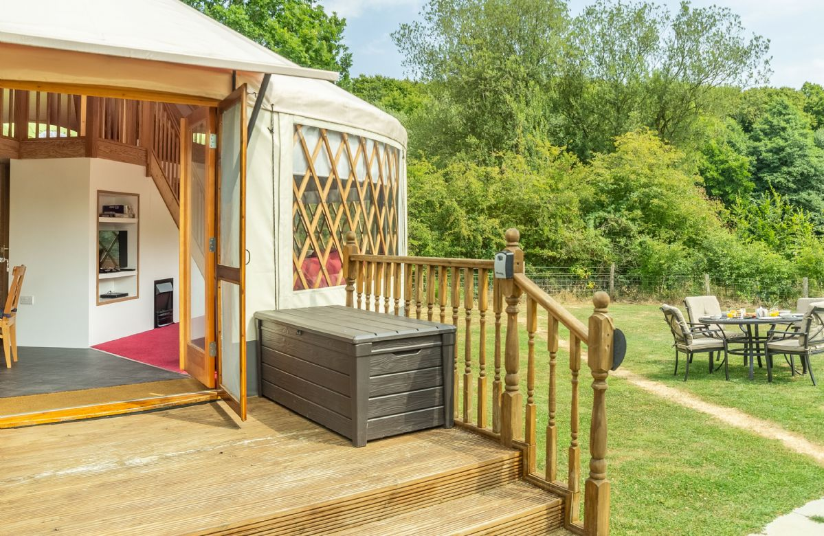 Ash Yurt a holiday cottage rental for 5 in East Hoathly,