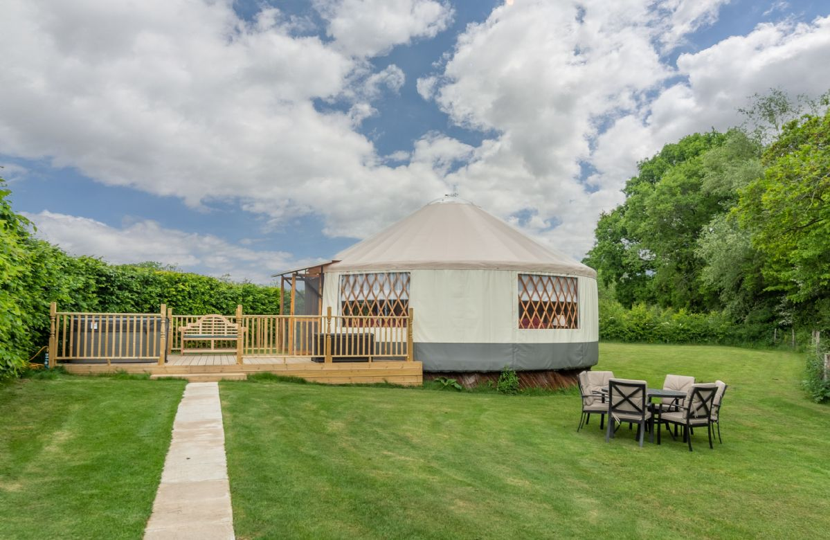 Willow Yurt a holiday cottage rental for 5 in East Hoathly,