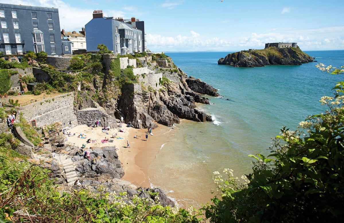 High House a holiday cottage rental for 10 in Tenby,