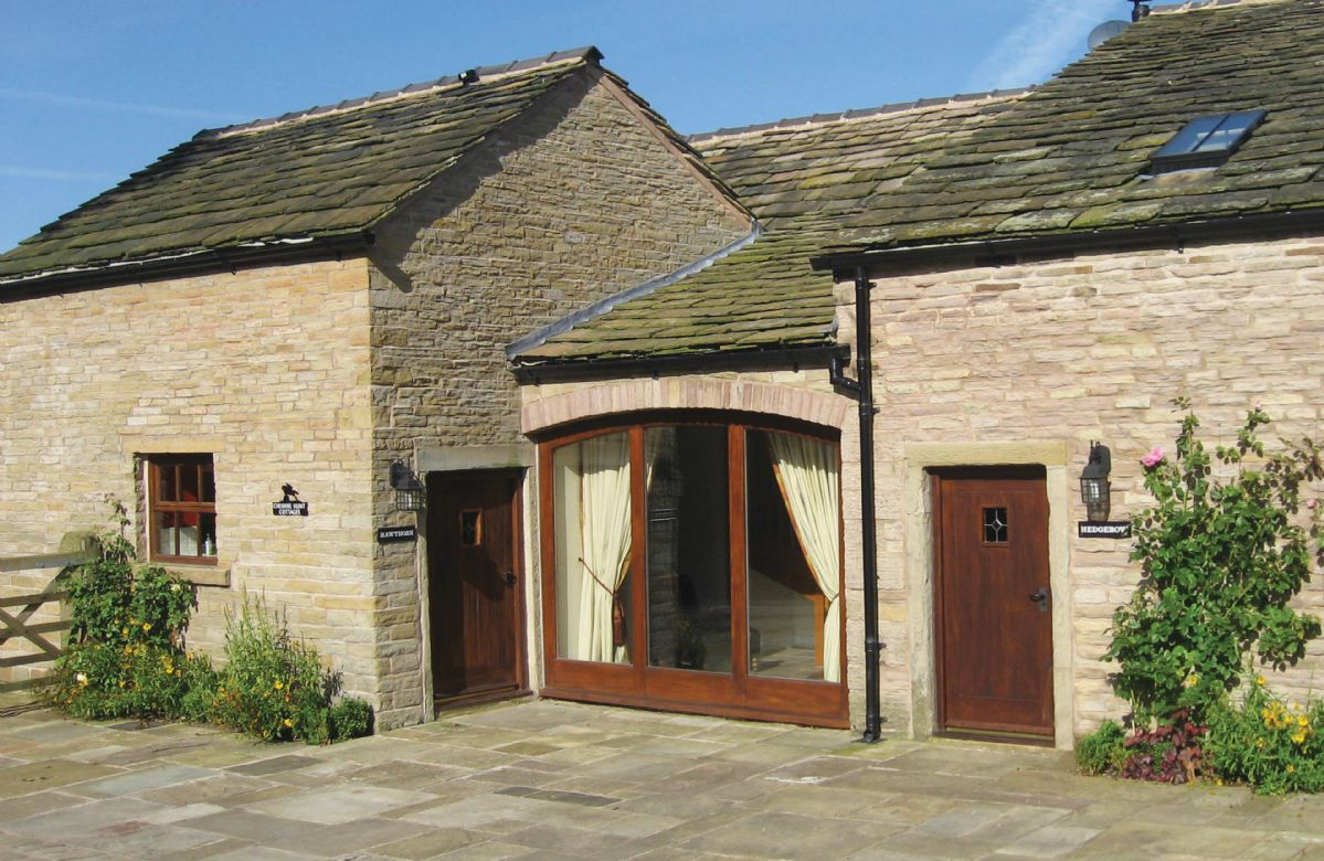 Damson and Orchard a holiday cottage rental for 11 in Rainow,