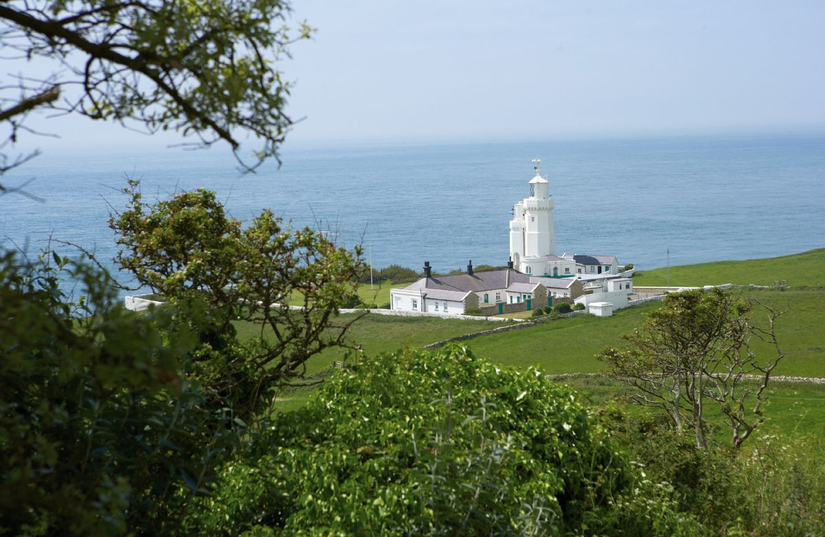 Landward Cottage a holiday cottage rental for 4 in St Catherines Lighthouse,