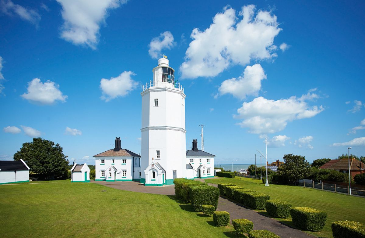 Lodesman Cottage a holiday cottage rental for 4 in North Foreland Lighthouse,