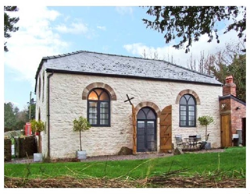 The Old Baptist Chapel a holiday cottage rental for 4 in Penallt,