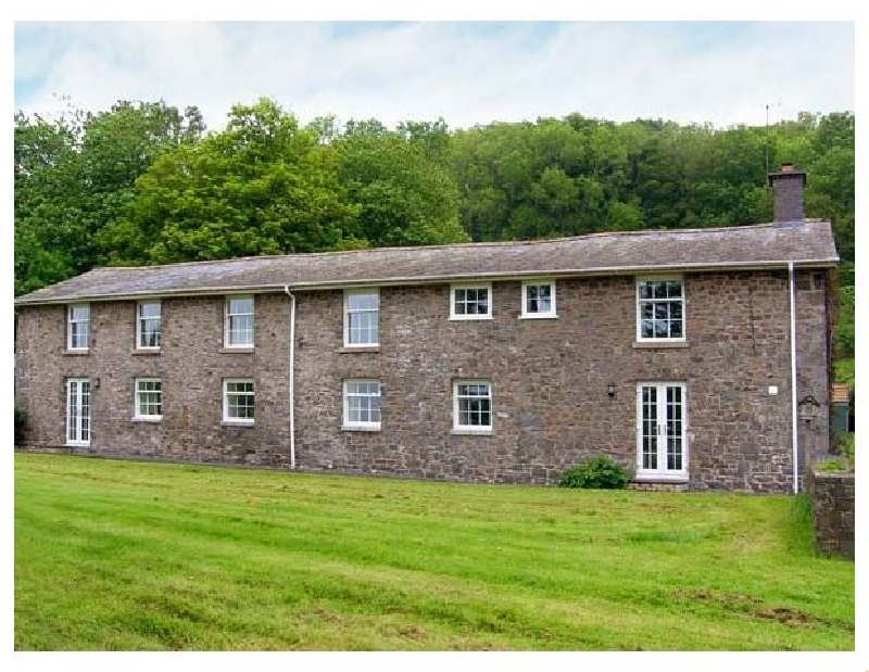 Old Rectory Cottage a holiday cottage rental for 14 in Aberhafesp,