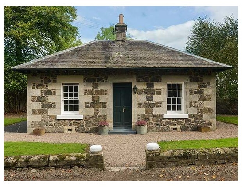 Lodge a holiday cottage rental for 2 in Auchtermuchty,