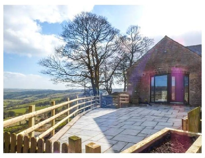 The Barn at Hill House a holiday cottage rental for 8 in Elkstones,