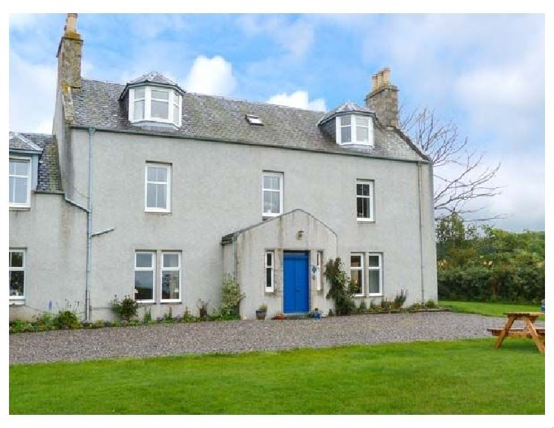 The West Wing a holiday cottage rental for 7 in Grantown-On-Spey,