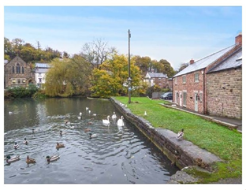 Image of Smithy Cottage on the Mill Pond