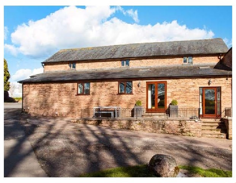 Teal Barn a holiday cottage rental for 4 in St Weonards,