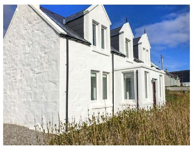 The Old Croft House a holiday cottage rental for 5 in Staffin,