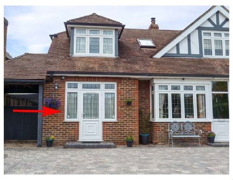 The Annex a holiday cottage rental for 2 in Rustington,