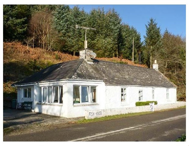Fish House a holiday cottage rental for 8 in Kirkcudbright,