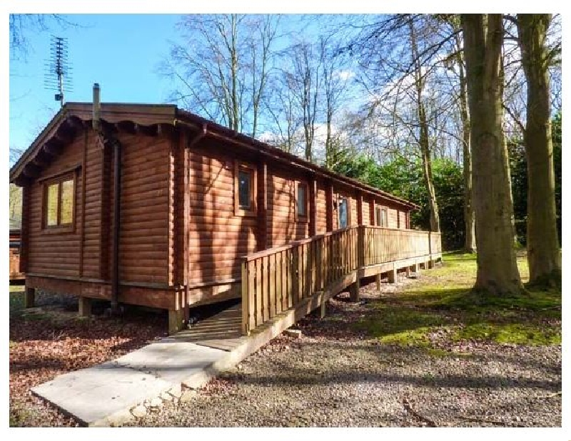 Lodge 27 a holiday cottage rental for 6 in Kenwick Woods,