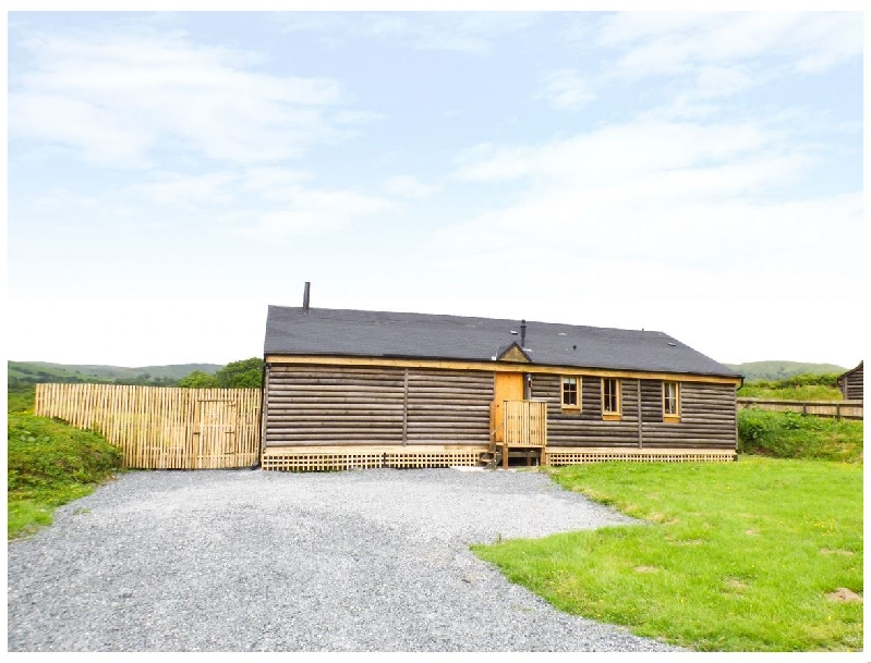 Caban Ceirw (Deer Cabin) a holiday cottage rental for 6 in Llanbrynmair,