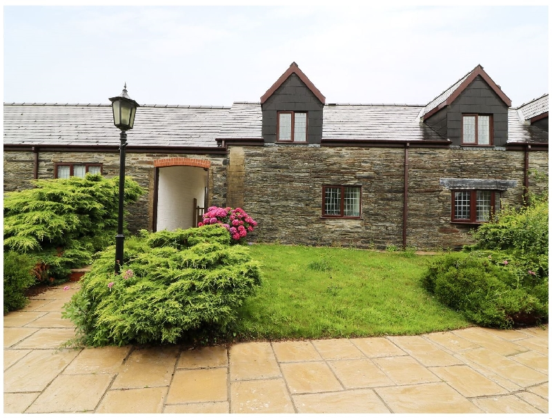 Rose Cottage a holiday cottage rental for 4 in Cardigan,