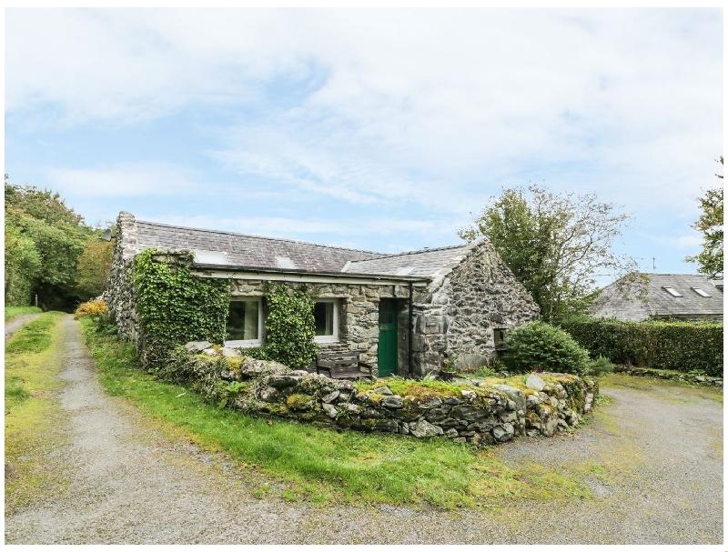 Ty Cerrig a holiday cottage rental for 5 in Llanbedr,