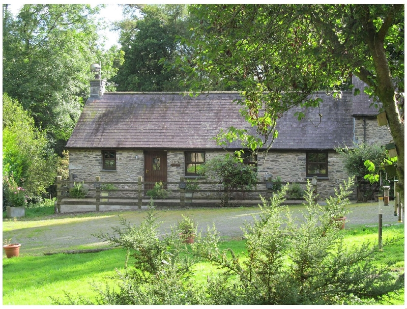 Ty Barcud a holiday cottage rental for 4 in Lampeter,
