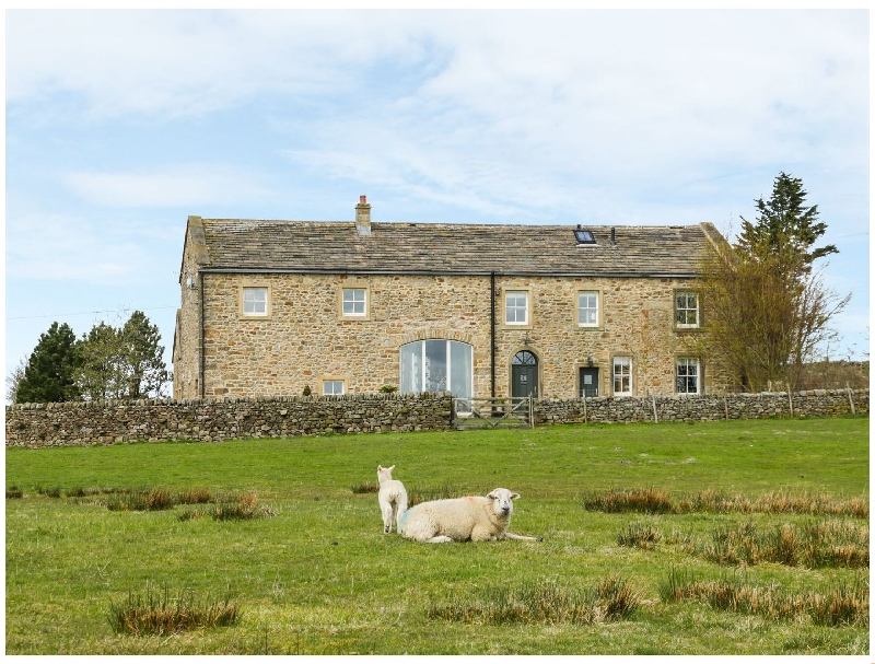 Bookilber Barn a holiday cottage rental for 12 in Settle,