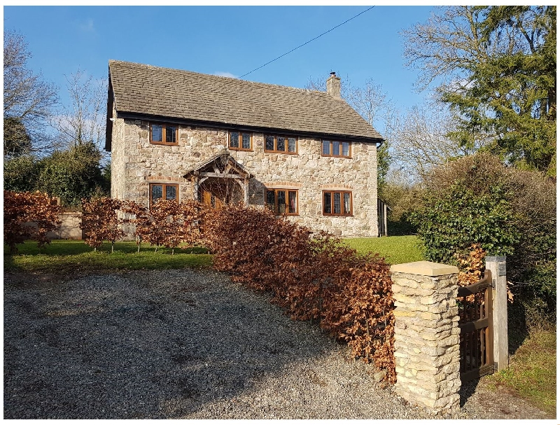 Abbott's Retreat a holiday cottage rental for 7 in Bishop'S Castle,