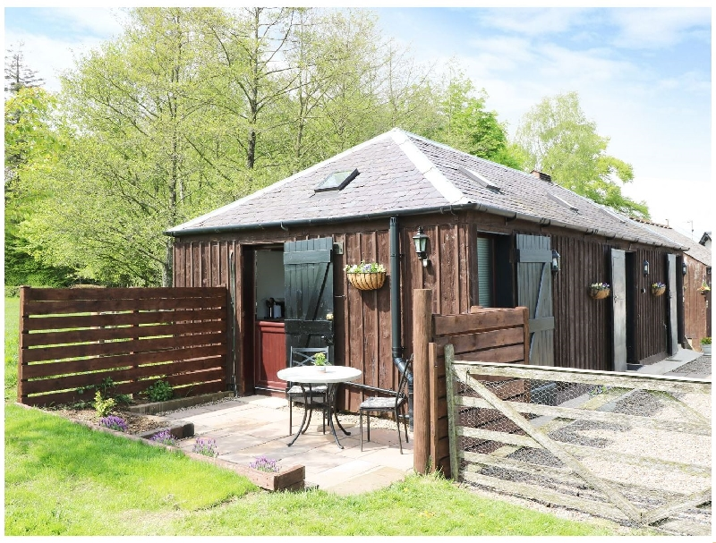 The Stable a holiday cottage rental for 2 in Hightae Near Lochmaben,