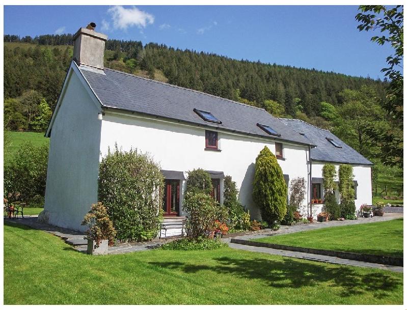 Dafarn Newydd a holiday cottage rental for 2 in Dinas Mawddwy,