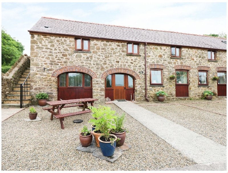 The Cart Shed a holiday cottage rental for 5 in Haverfordwest,
