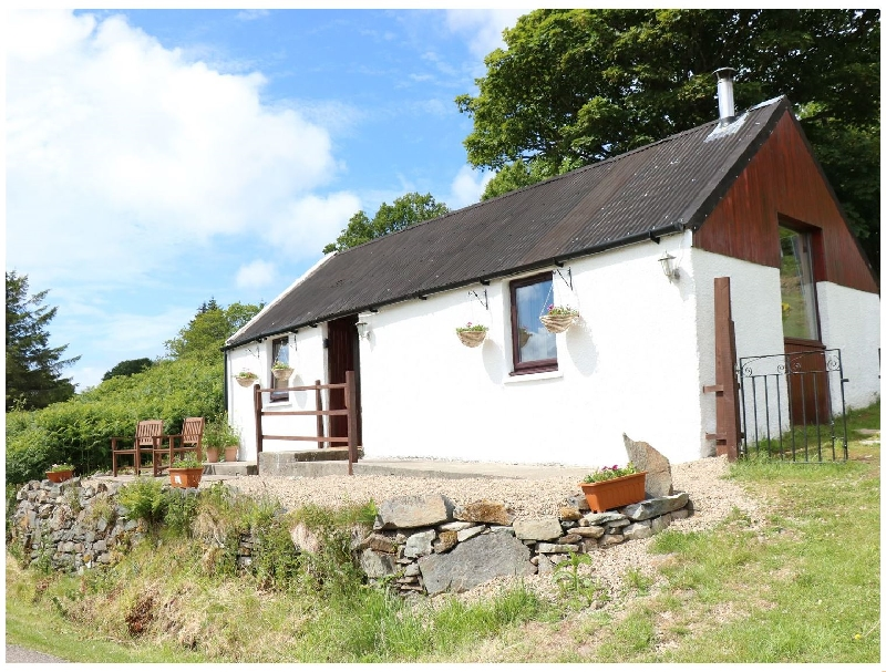 Hazelbank Byre a holiday cottage rental for 2 in Kilchoan,