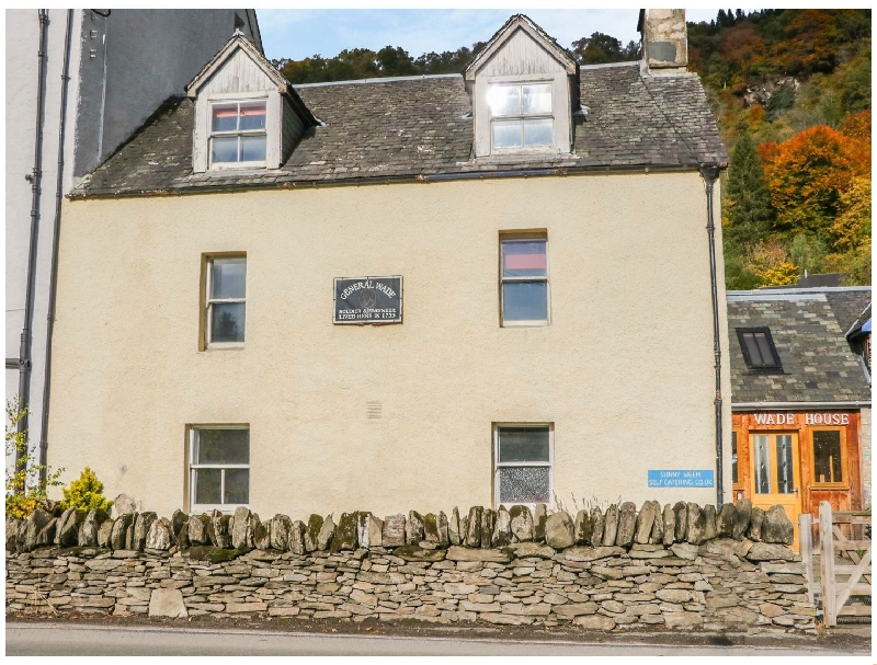 Wade House a holiday cottage rental for 6 in Aberfeldy,